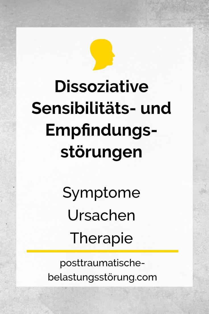 Dissoziative Sensibilitäts- und Empfindungsstörungen - posttraumatische-belastungsstörung.com