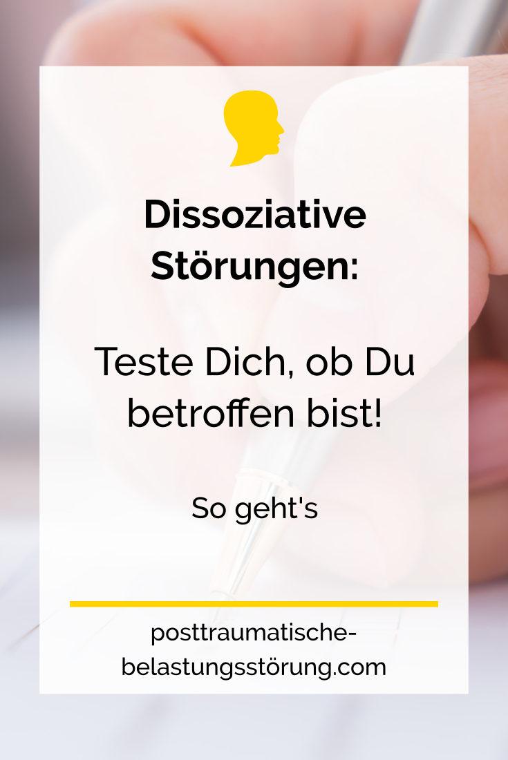 Dissoziative Störungen: Teste Dich, ob Du betroffen bist - posttraumatische-belastungsstörung.com