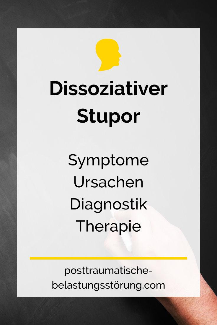 Dissoziativer Stupor (Symptome, Ursachen, Diagnostik, Therapie) - posttraumatische-belastungsstörung.com