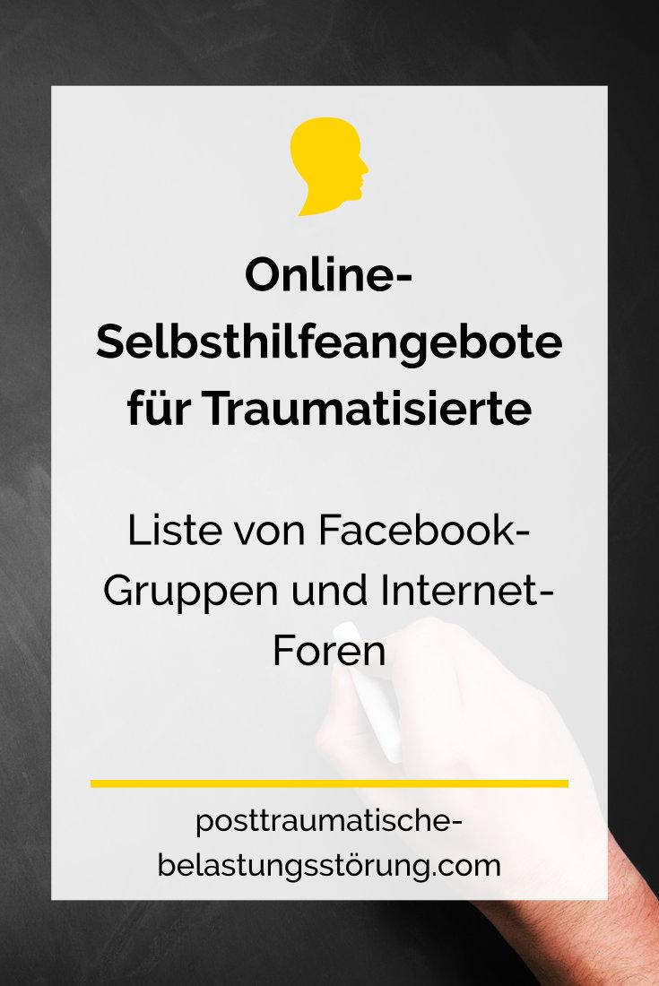 Online-Selbsthilfeangebote für Traumatisierte - posttraumatische-belastungsstörung.com