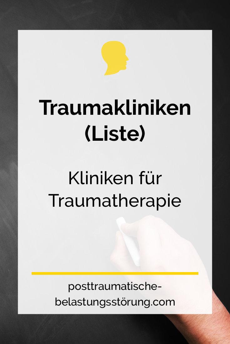 Traumakliniken (Liste) - posttraumatische-belastungsstörung.com